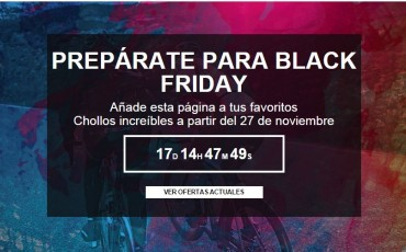 ¿Preparado para Black Friday?