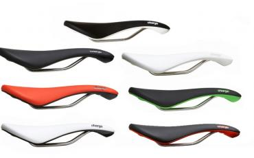 A selection of different coloured Charge Scoop and Spoon Saddles