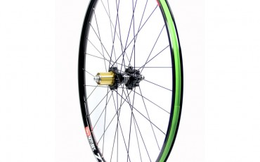 image of mountain bike wheel