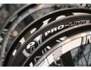 Imagen de cerca de varias ruedas Pro-Lite