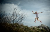 Ricky Lightfoot, trail runner