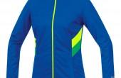 Imagen de una chaqueta Gore Running Wear con la tecnología Windstopper